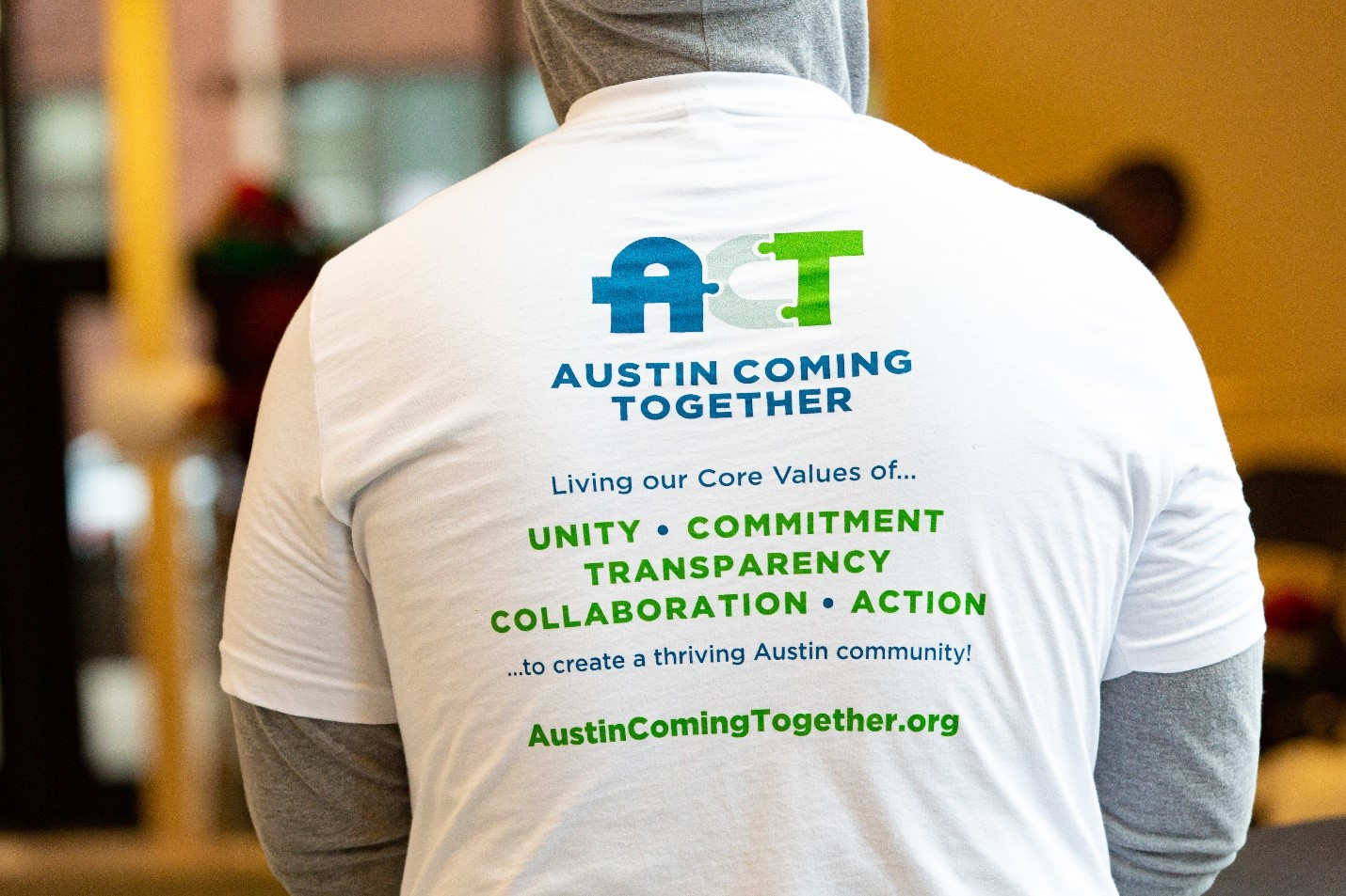 Austin Coming Together tshirt