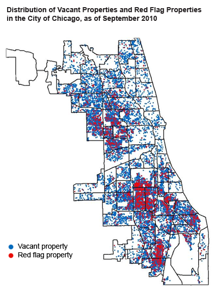 The Chicago region's vacant property problem: a data