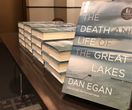An evening with Dan Egan, author of The Death and Life of the Great Lakes
