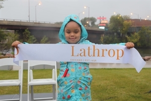 Lathrop neighbor night and ribbon cutting celebration