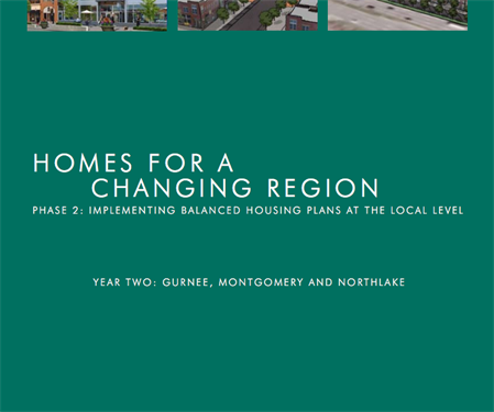 Homes for a Changing Region: Phase Two, Year Two: Gurnee, Montgomery and Northlake (2008)