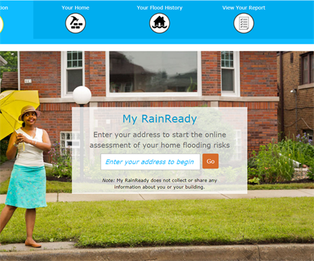 Prevent home flooding with a new, interactive tool from CNT