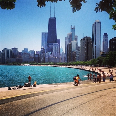 Biking and pedestrian improvements top list of ideas for North Lake Shore Drive redesign