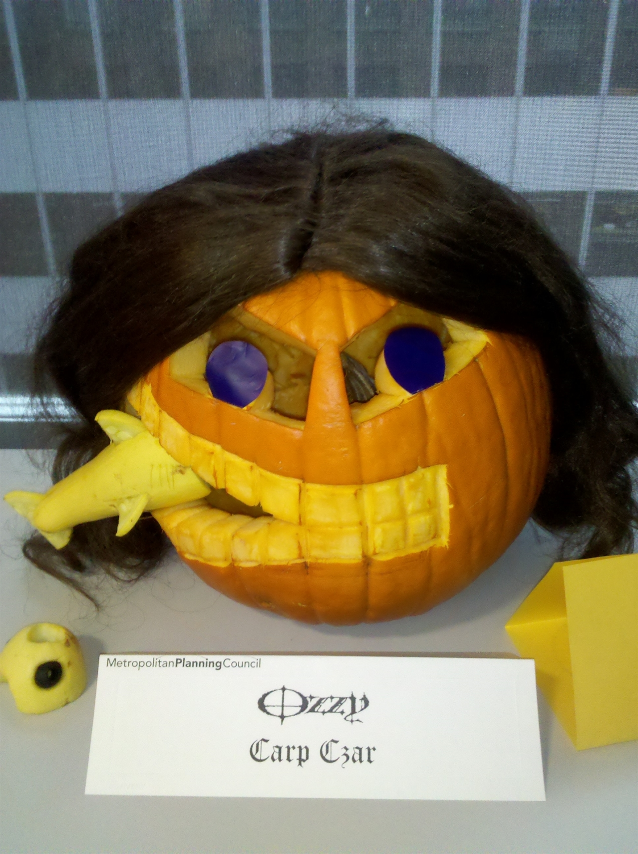Mpc s pumpkin carving skills tested at marquette building