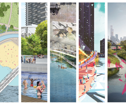 River Edge Ideas Lab: Nine new visions for Chicago's riverfront from world-class architects