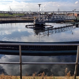 Calumet Stormwater Collaborative visits the Calumet Water Reclamation Plant